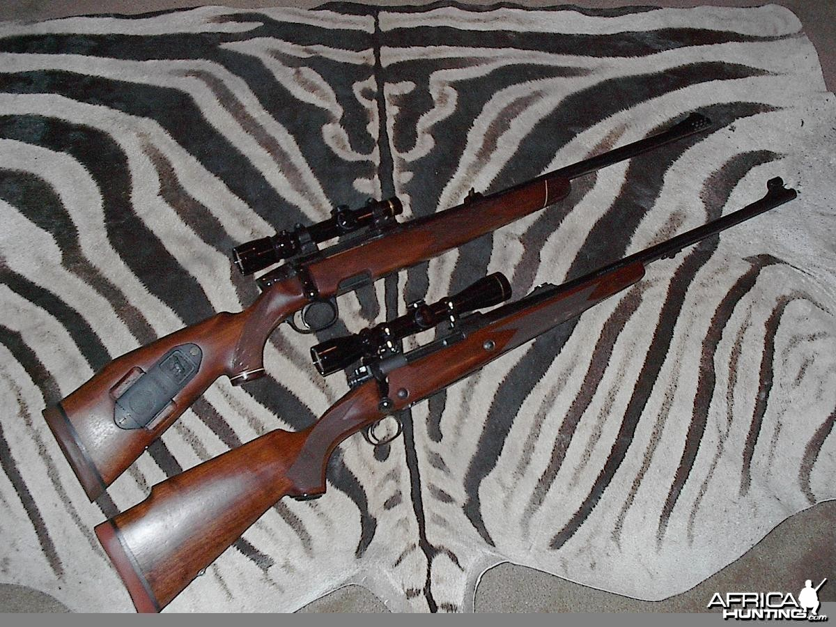 My Safari Rifles