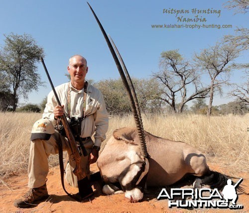 """New number 2 SCI Oryx with rifle 109 1/2"""""""