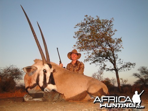 Motsomi Safaris - Gemsbuck