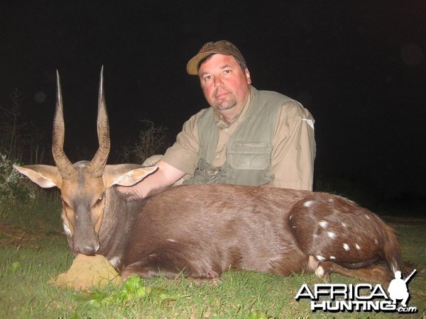 Cape Bushbuck hunted with Andrew Harvey Safaris