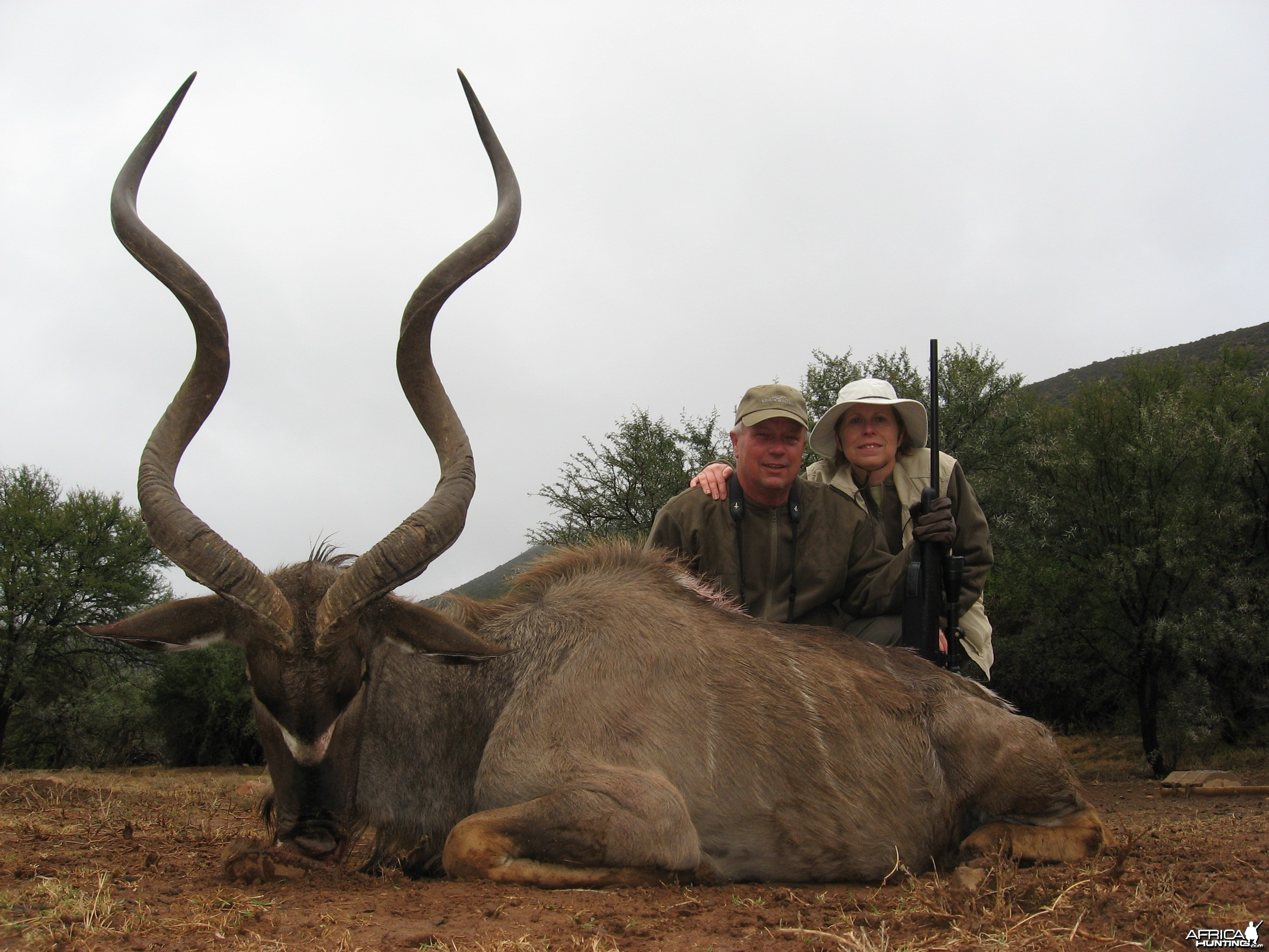 Cape Kudu hunted with Andrew Harvey Safaris