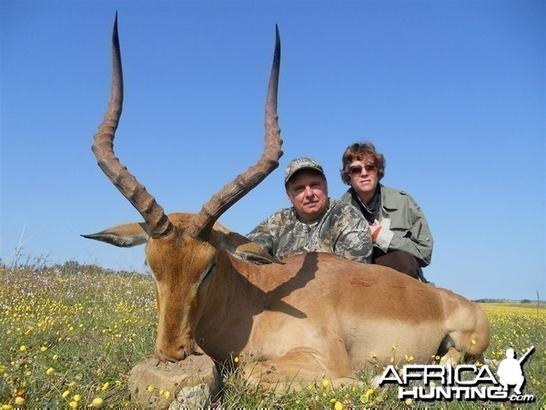 Impala hunted with Andrew Harvey Safaris