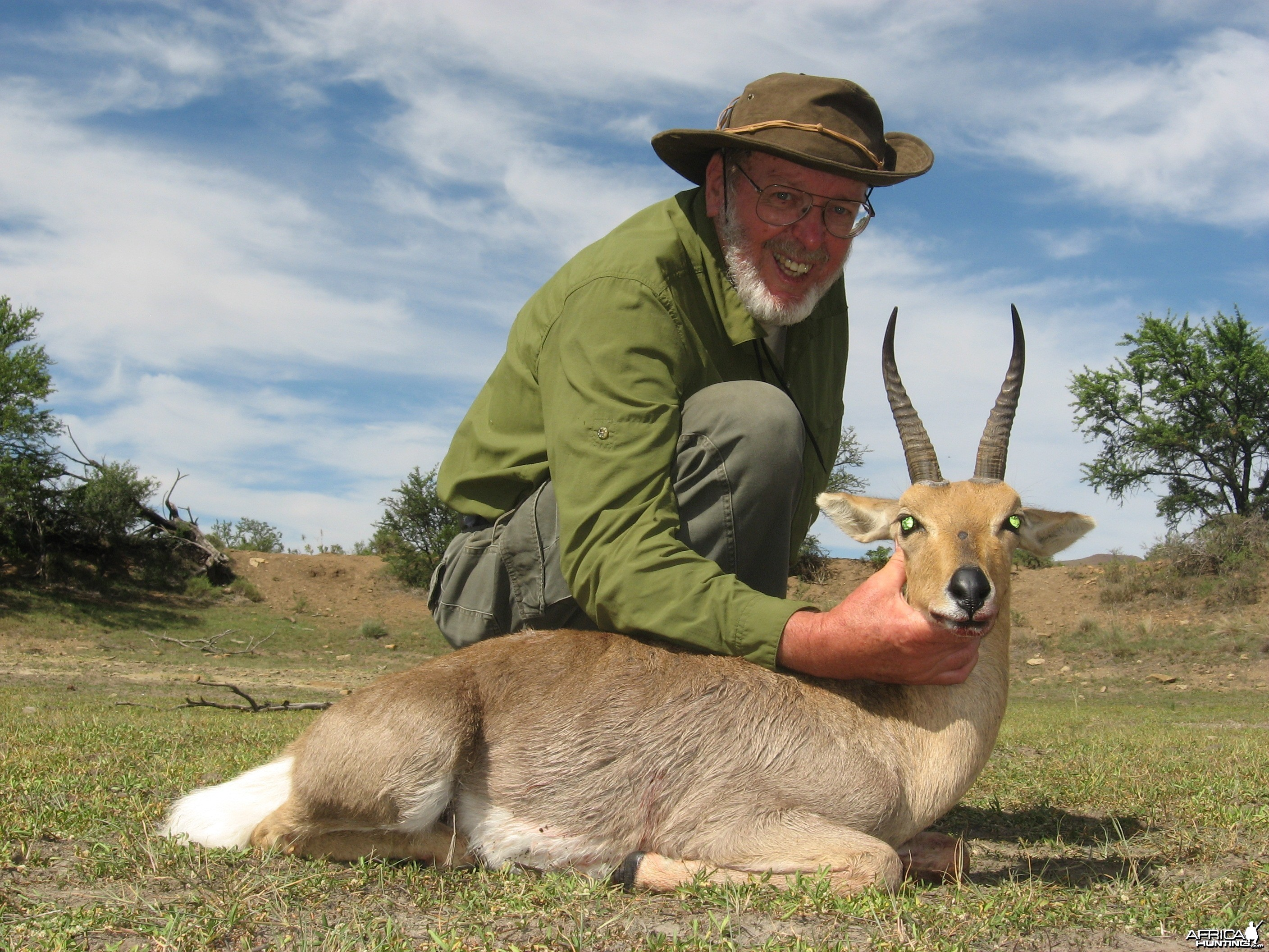 Mountain Reedbuck hunted with Andrew Harvey Safaris