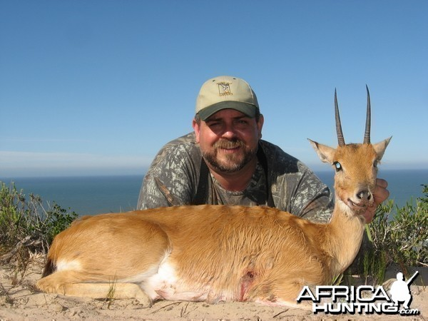 Oribi hunted with Andrew Harvey Safaris