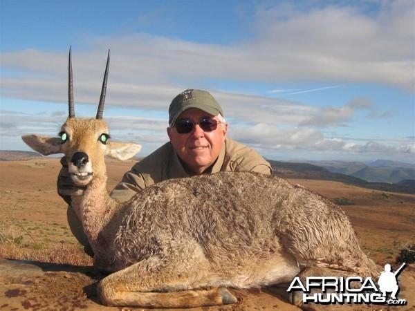Vaal Rhebok hunted with Andrew Harvey Safaris