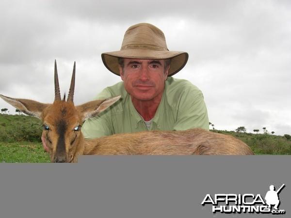 Duiker hunted with Andrew Harvey Safaris