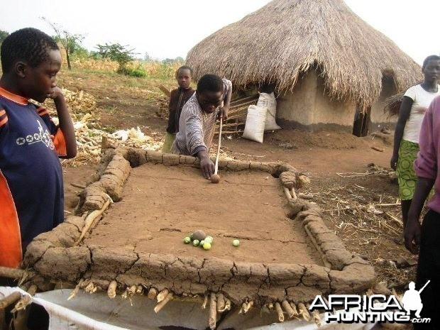 African Pool Table