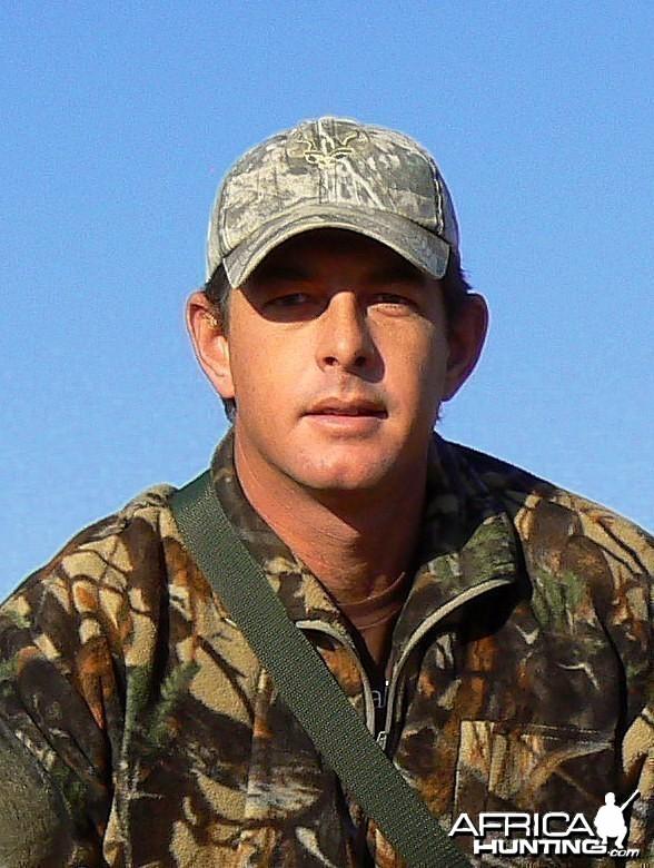 Helgaard van der Vyver at Ozondjahe Hunting Safaris Namibia