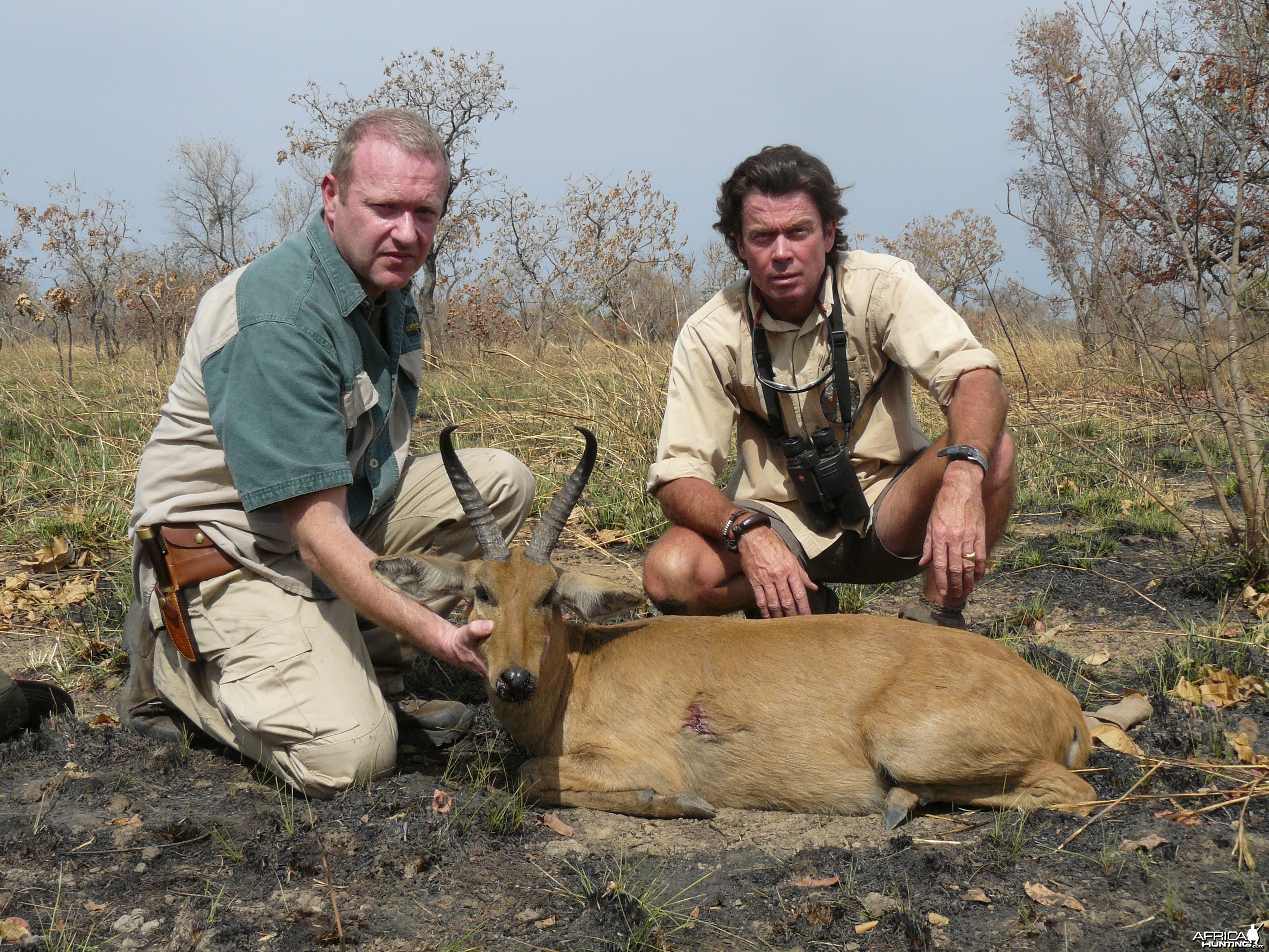 Bohor/Nagor Reedbuck hunted in Benin with Club Faune