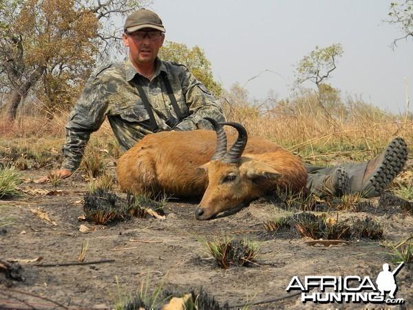 Bohor/Nagor Reedbuck hunted in Benin with Club Faune
