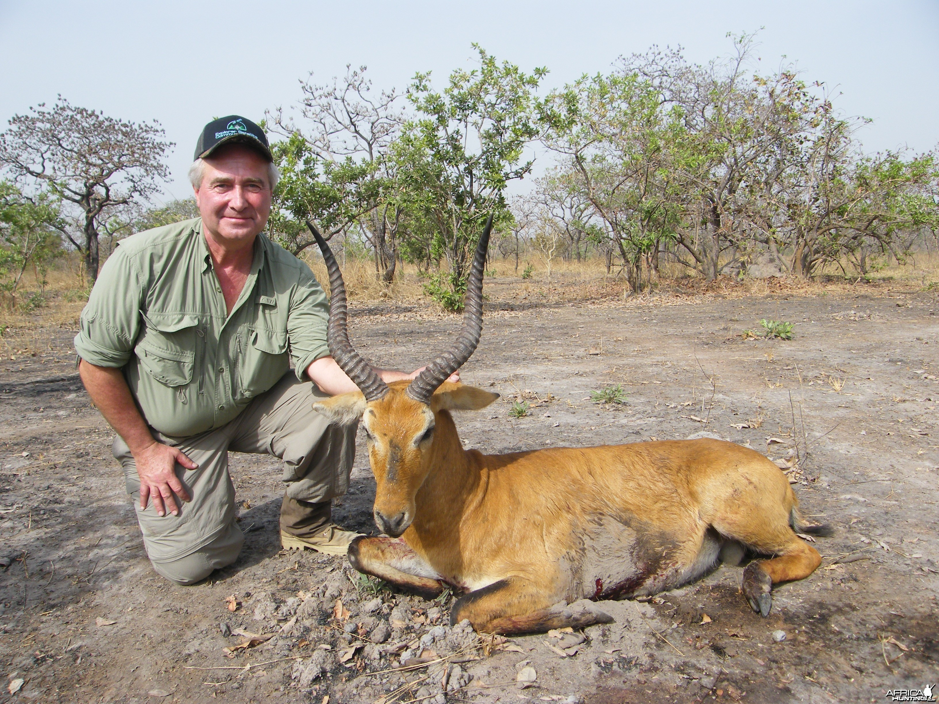 Western/Buffon Kob hunted in Cameroon with Club Faune