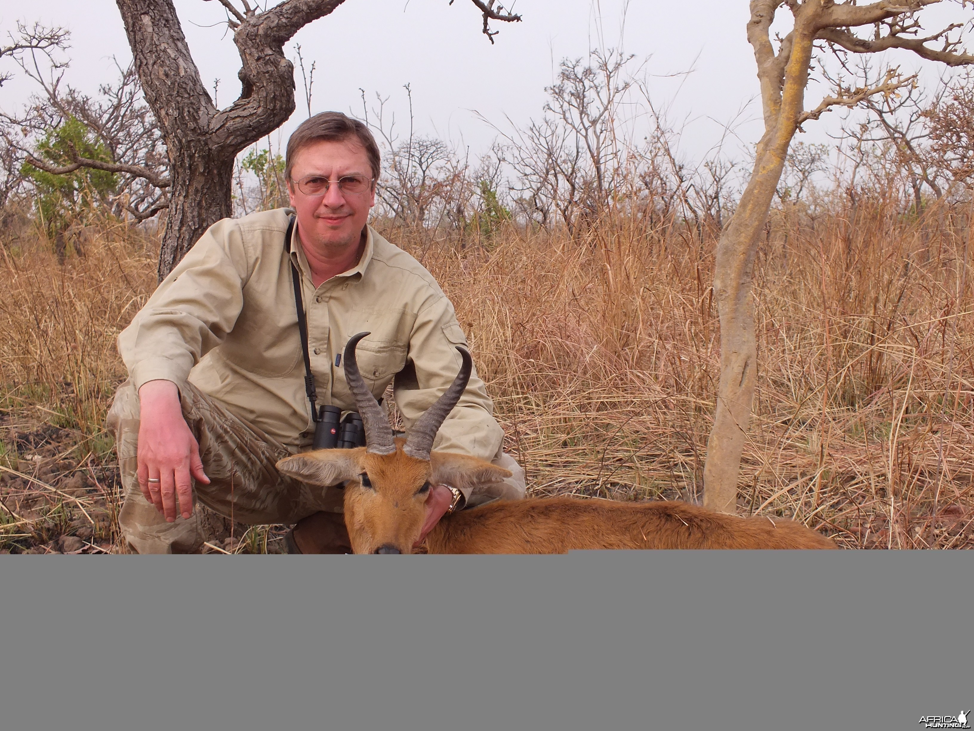 Bohor Reedbuck hunted in Cameroon with Club Faune