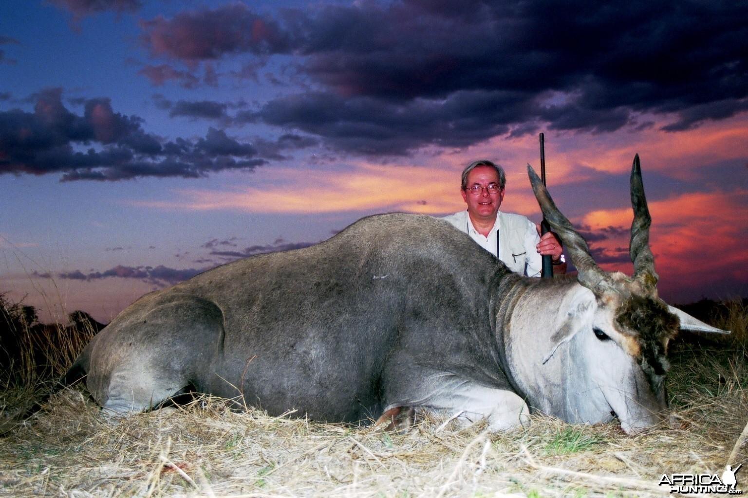 Hunting Cape Eland in Namibia