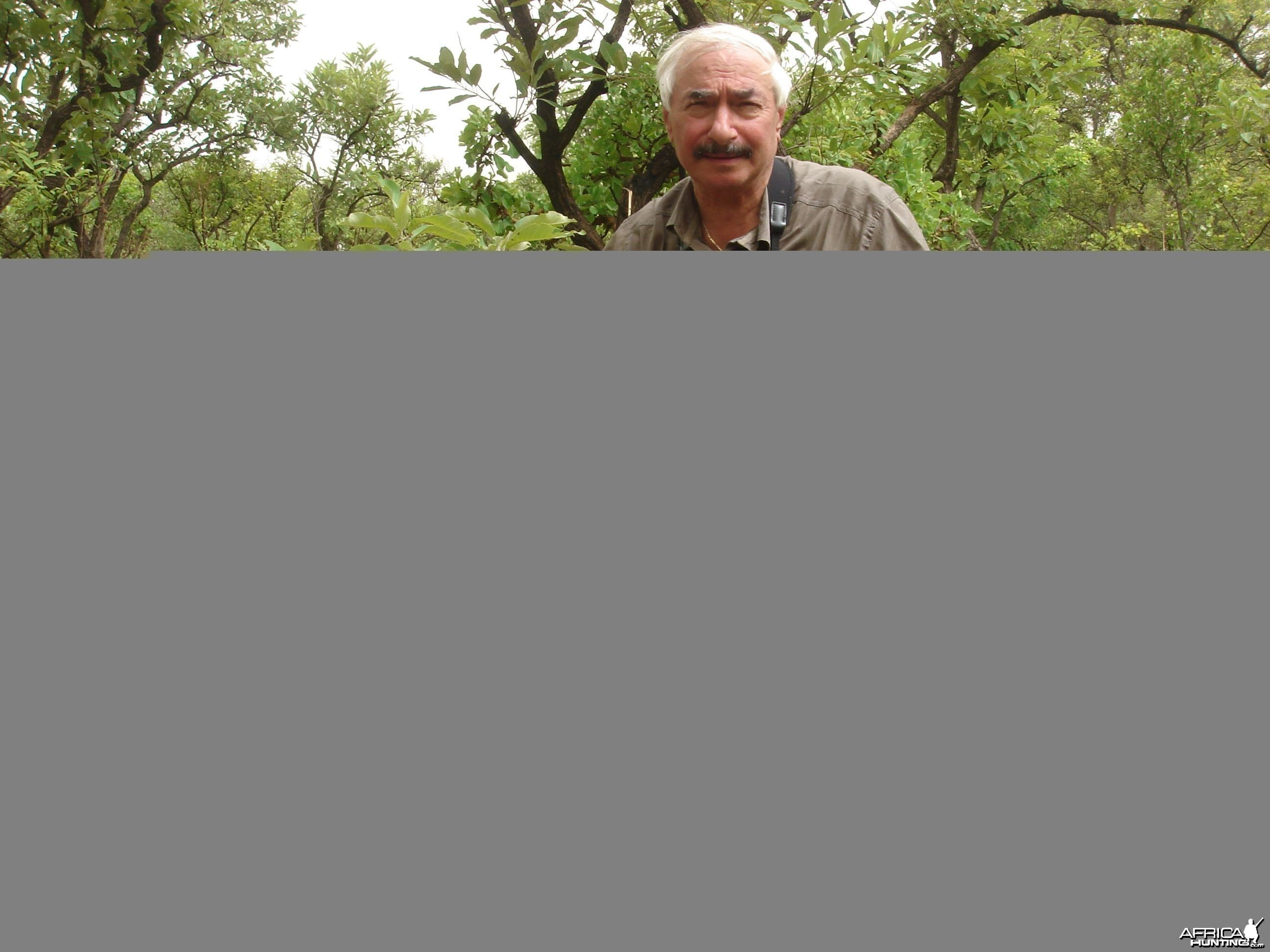 Warthog hunted in Central Africa with Club Faune