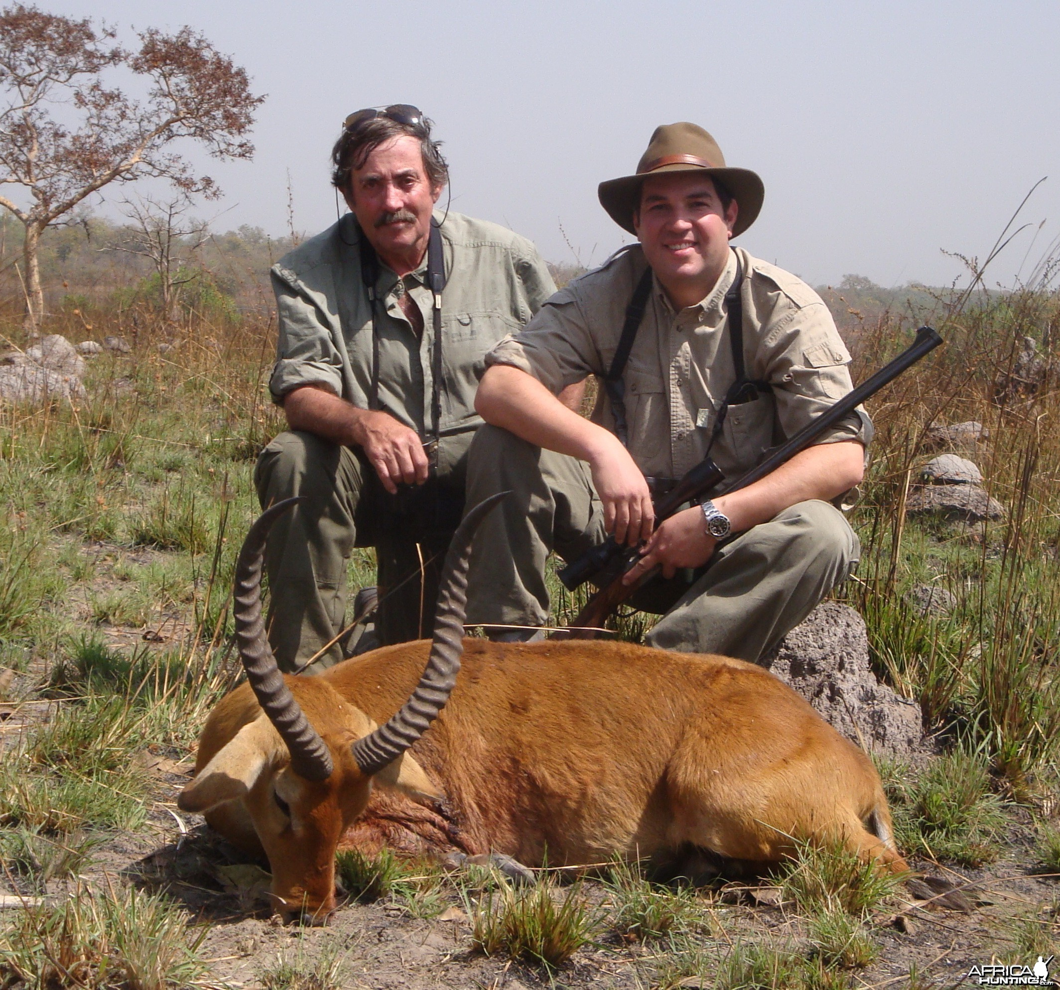 Western Kob/Buffon hunted in Central Africa with Club Faune