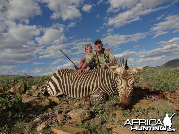 Hartmann's Mountain Zebra Namibia