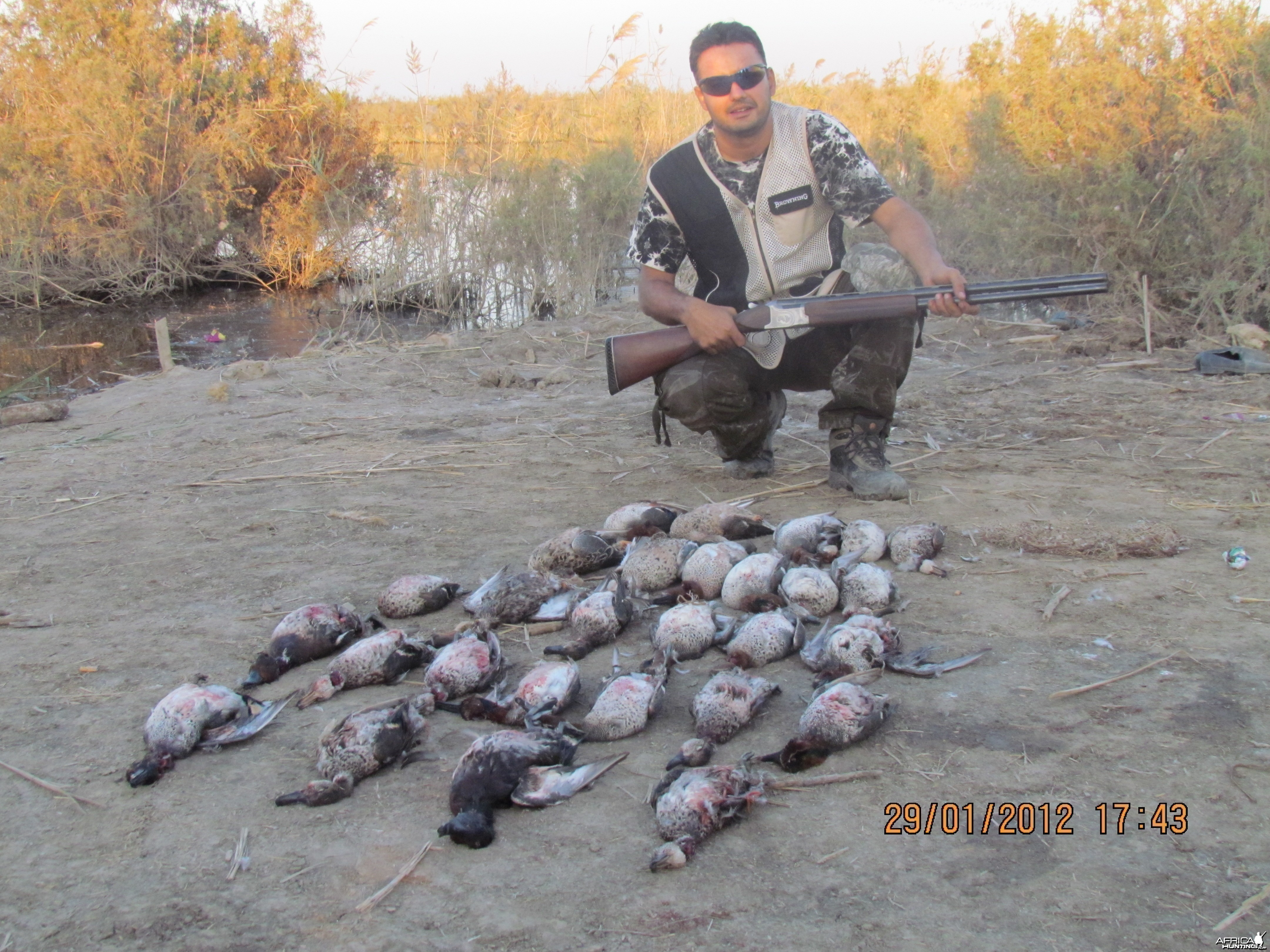 A good day of duck
