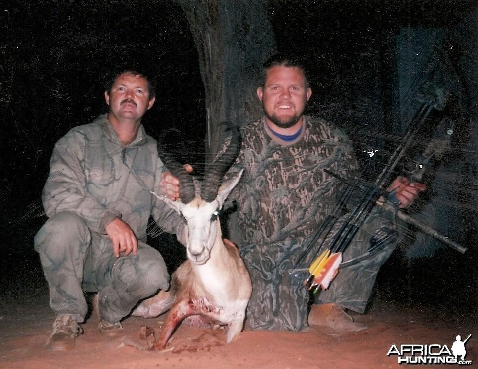 Namibia #1 Springbuck - Bow Hunting
