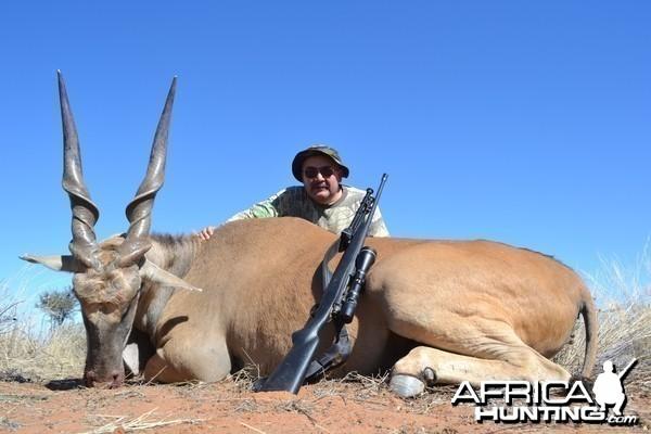 Namibia #6 Eland - Rifle Hunting