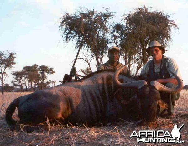 Namibia #7 Blue Wildebeest - Rifle Hunting