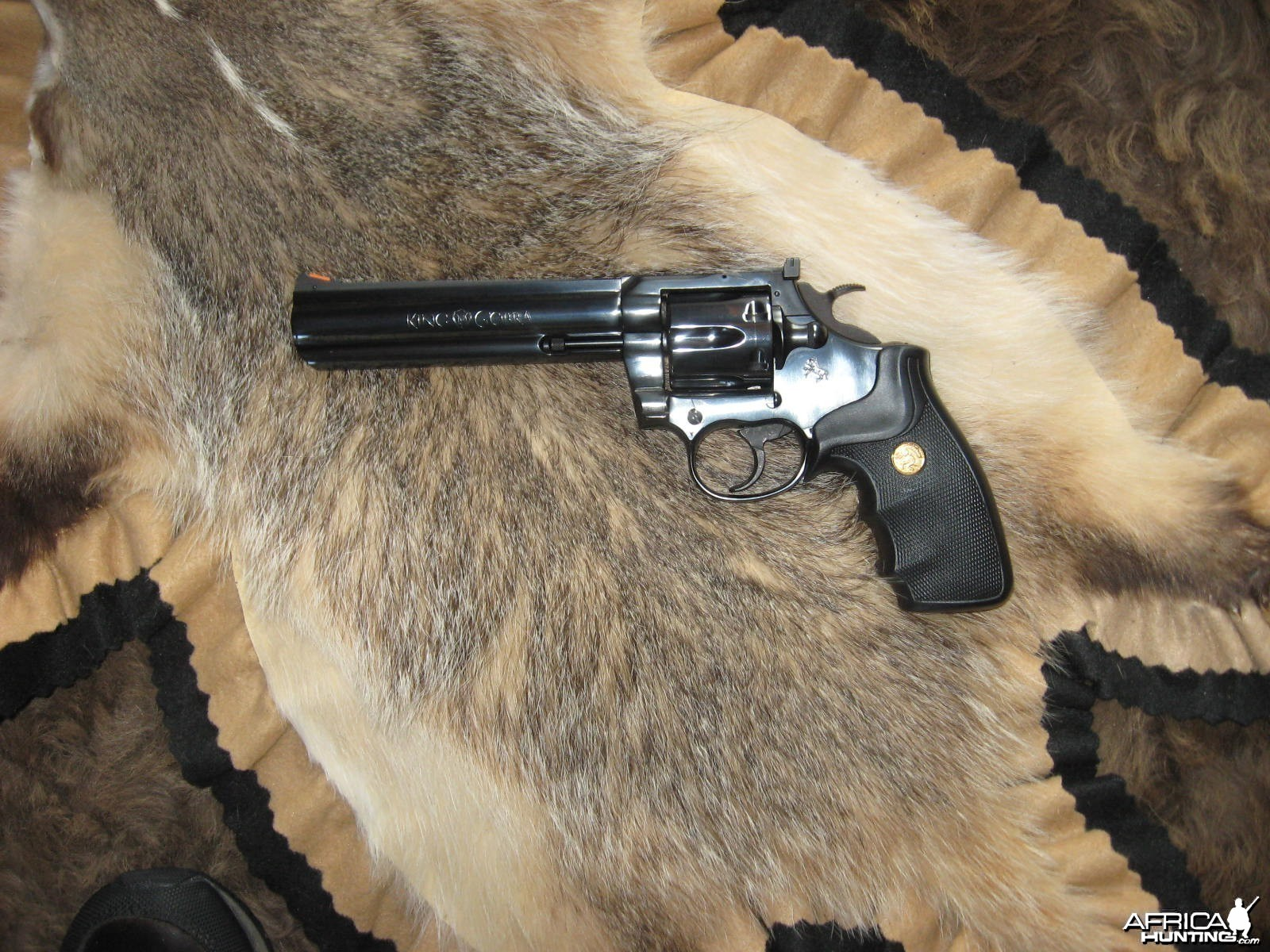 nice gun by colt.357 mag,king cobra