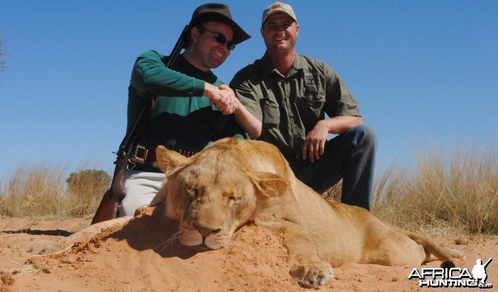 Lioness - Spiral Horn Safaris