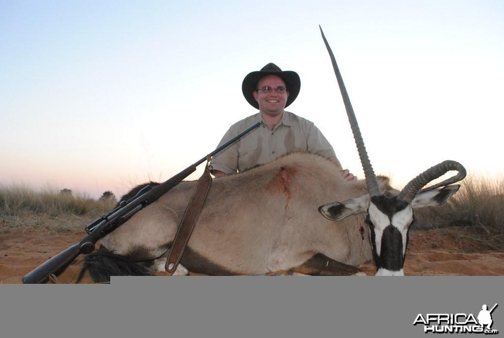 Gemsbok - Spiral Horn Safaris