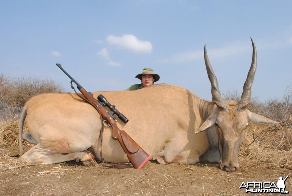Eland - Spiral Horn Safaris