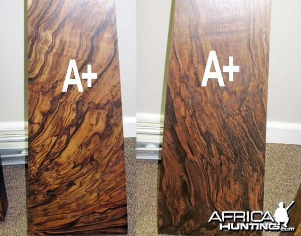 Wood for a 350Rigby