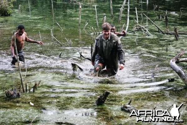 Hunting Sitatunga in Cameroon