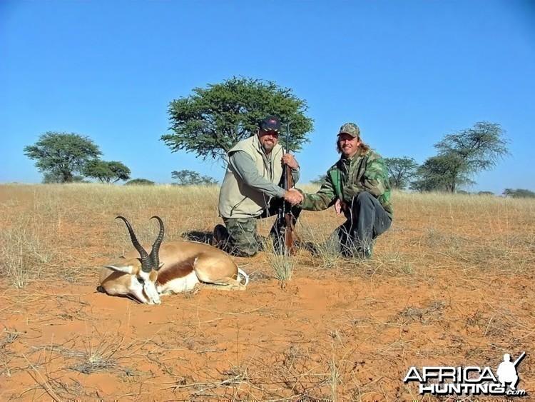 Kalahari Springbok trophy