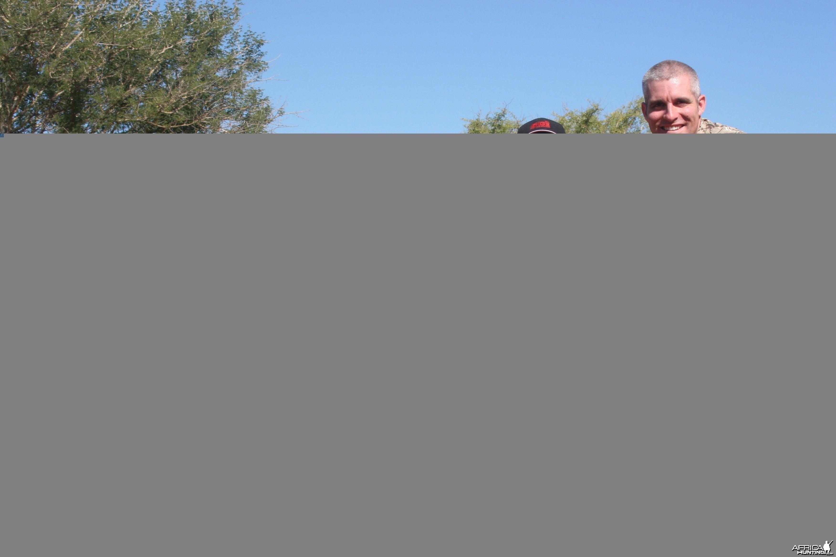 Blue Widebeest w/ Motshwere Safaris