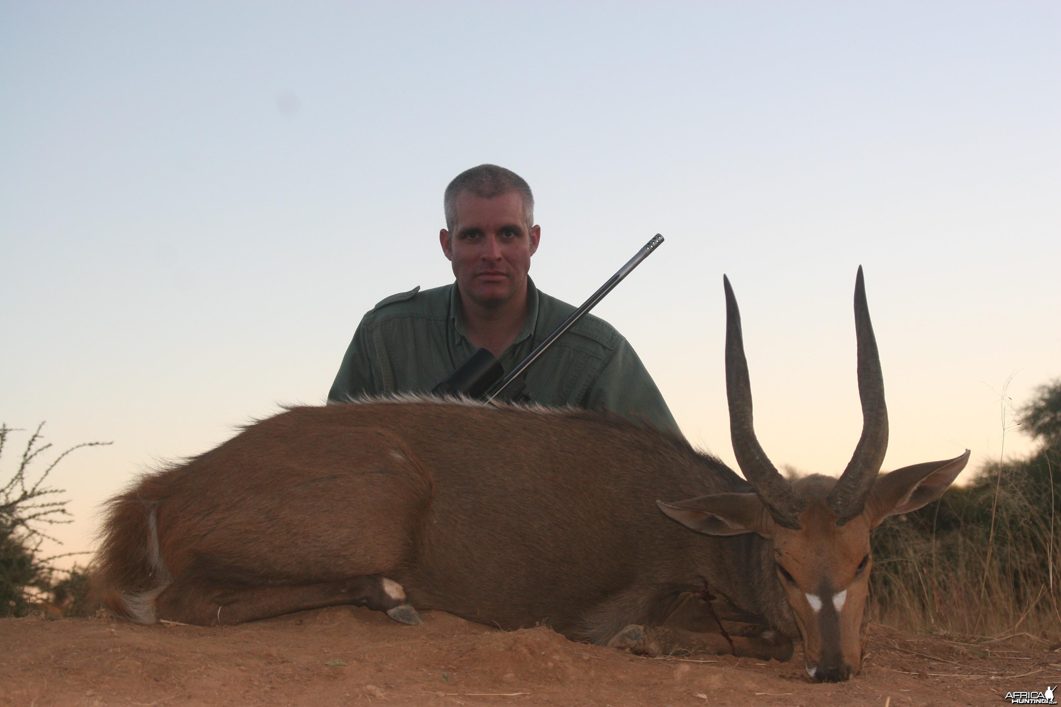 Bushbuck humter w/ Motshwere Safaris
