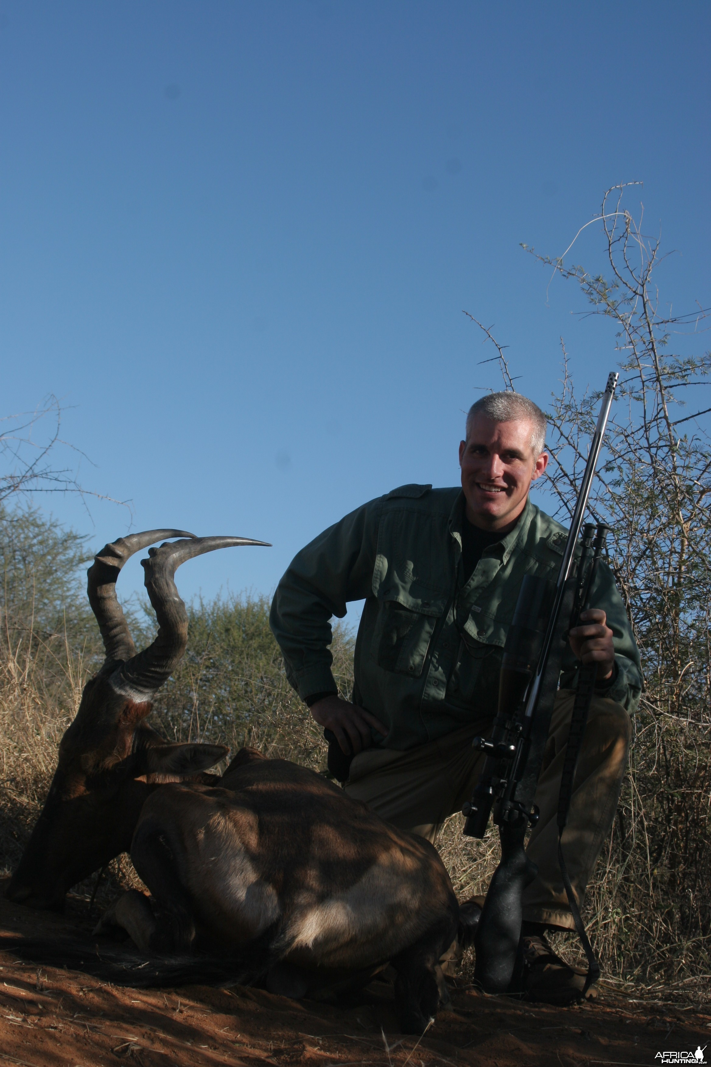 Red Hartebeest hunted w/ Motswere Safaris