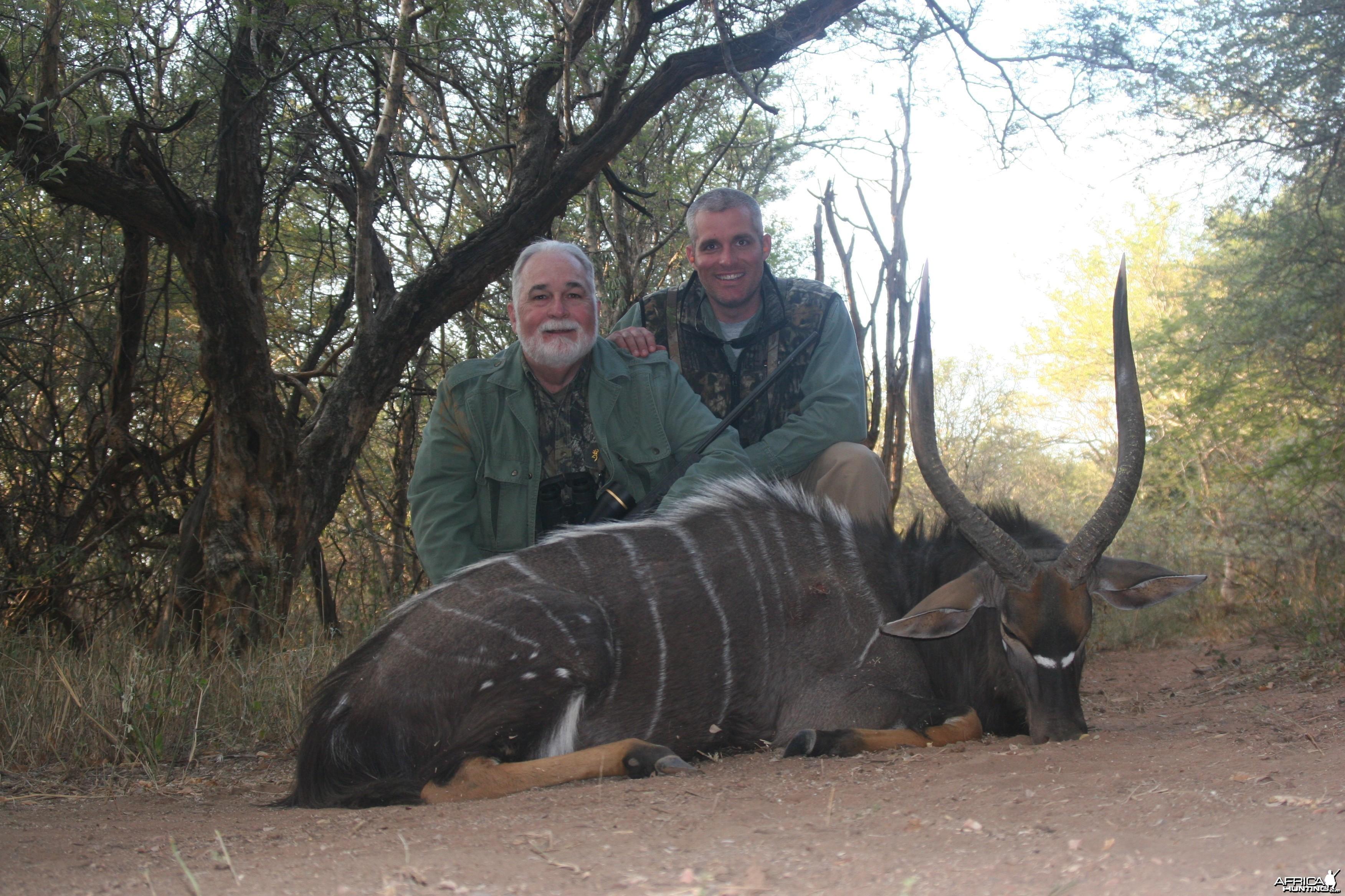 Nyala Hunted w/ Motshwere Safaris