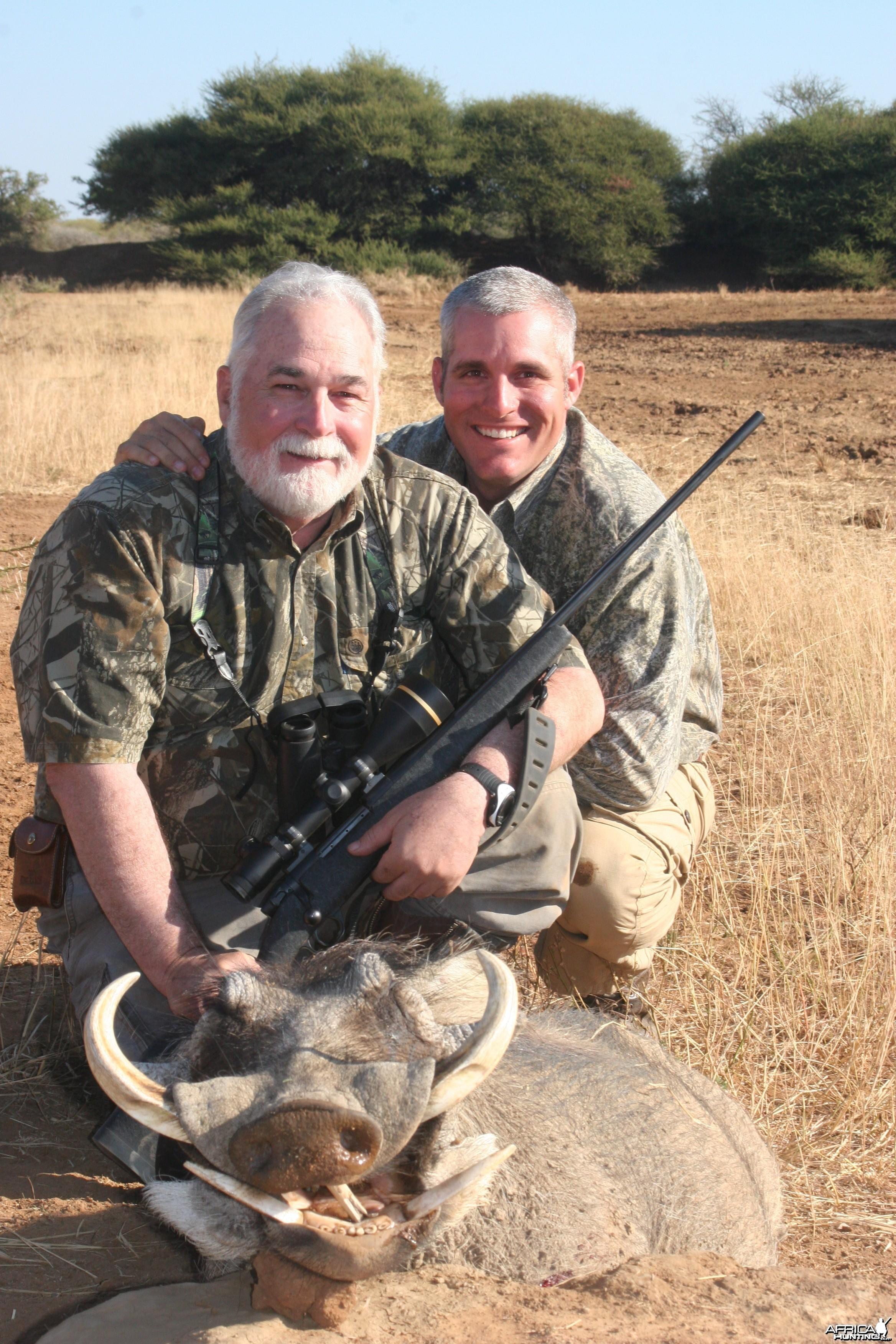 Warthog hunted w/ Motshwere Safaris