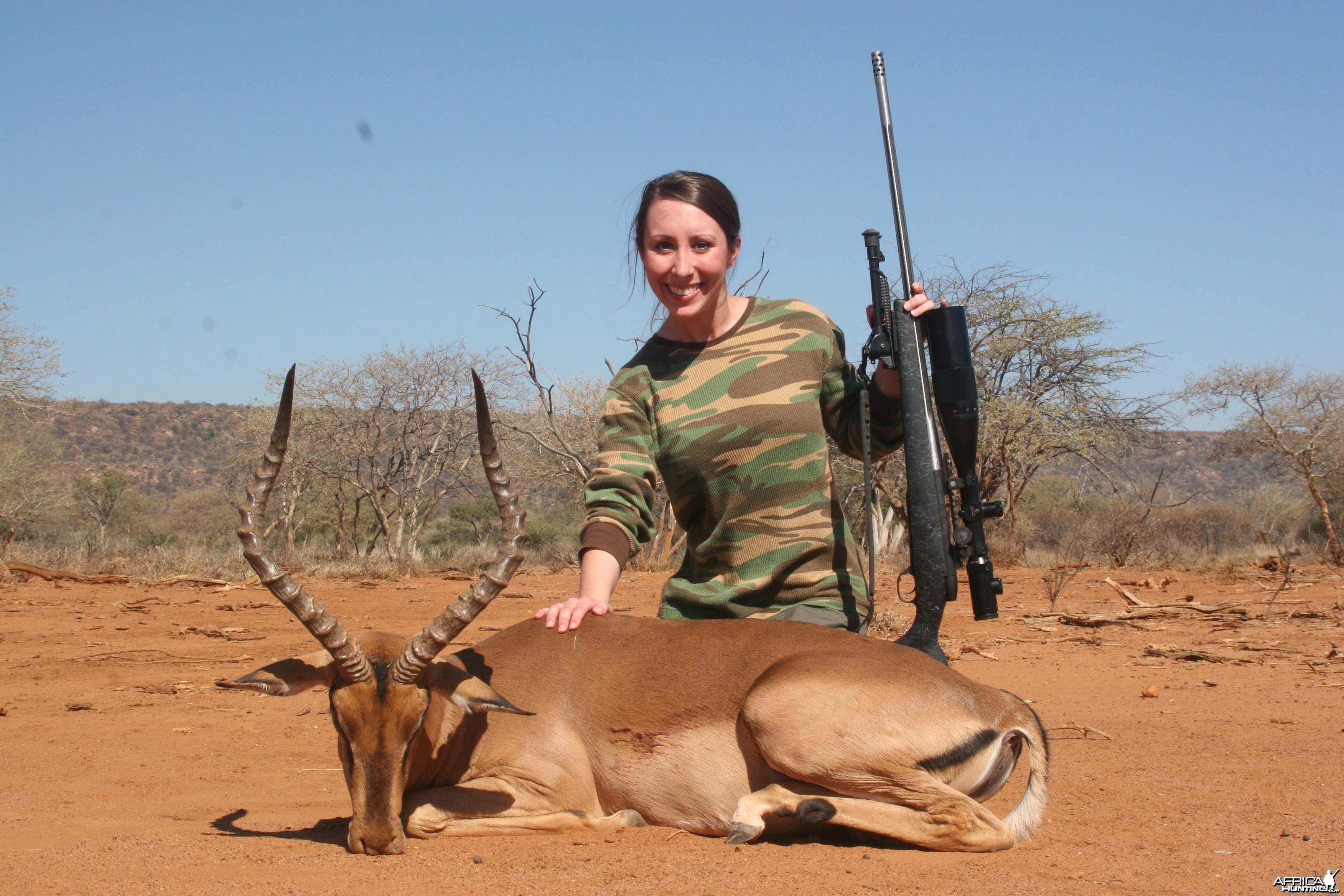 Impala hunted w/ Motshwere Safaris