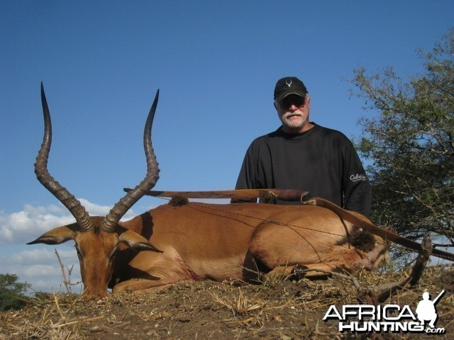 Impala with my Longbow
