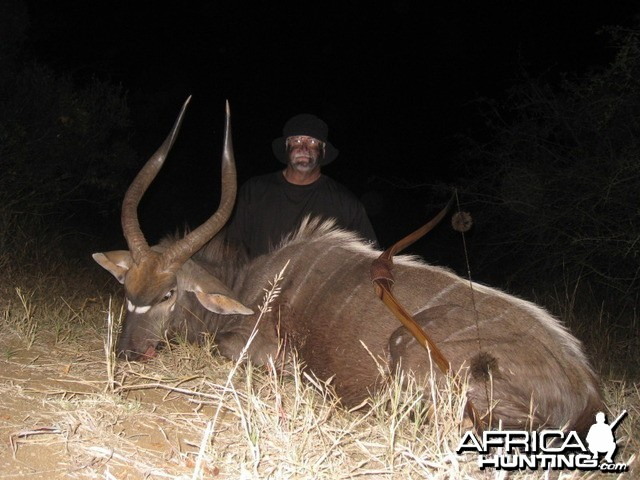 Nyala with my Longbow