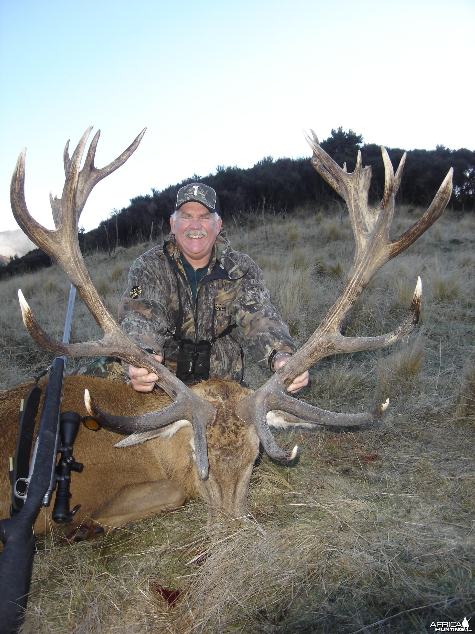 Red Stag with Shane Quinn 2008
