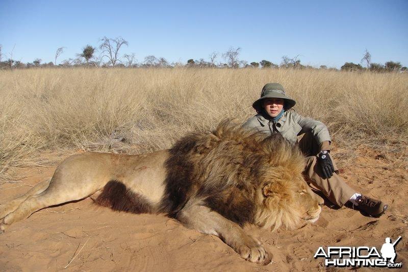 SA Lion - 2