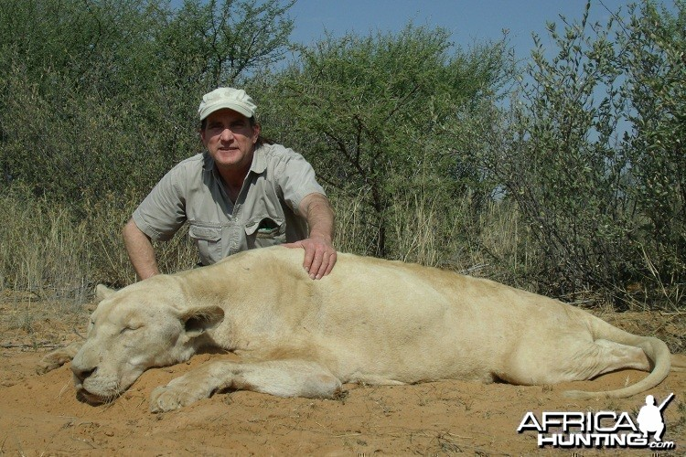 White Lioness South Africa