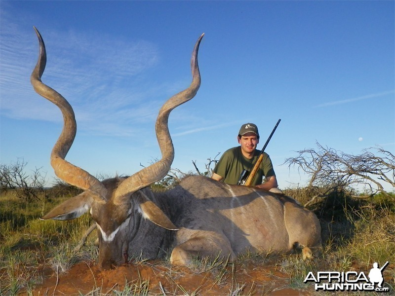 Greater Kudu hunted with Wintershoek Johnny Vivier Safaris