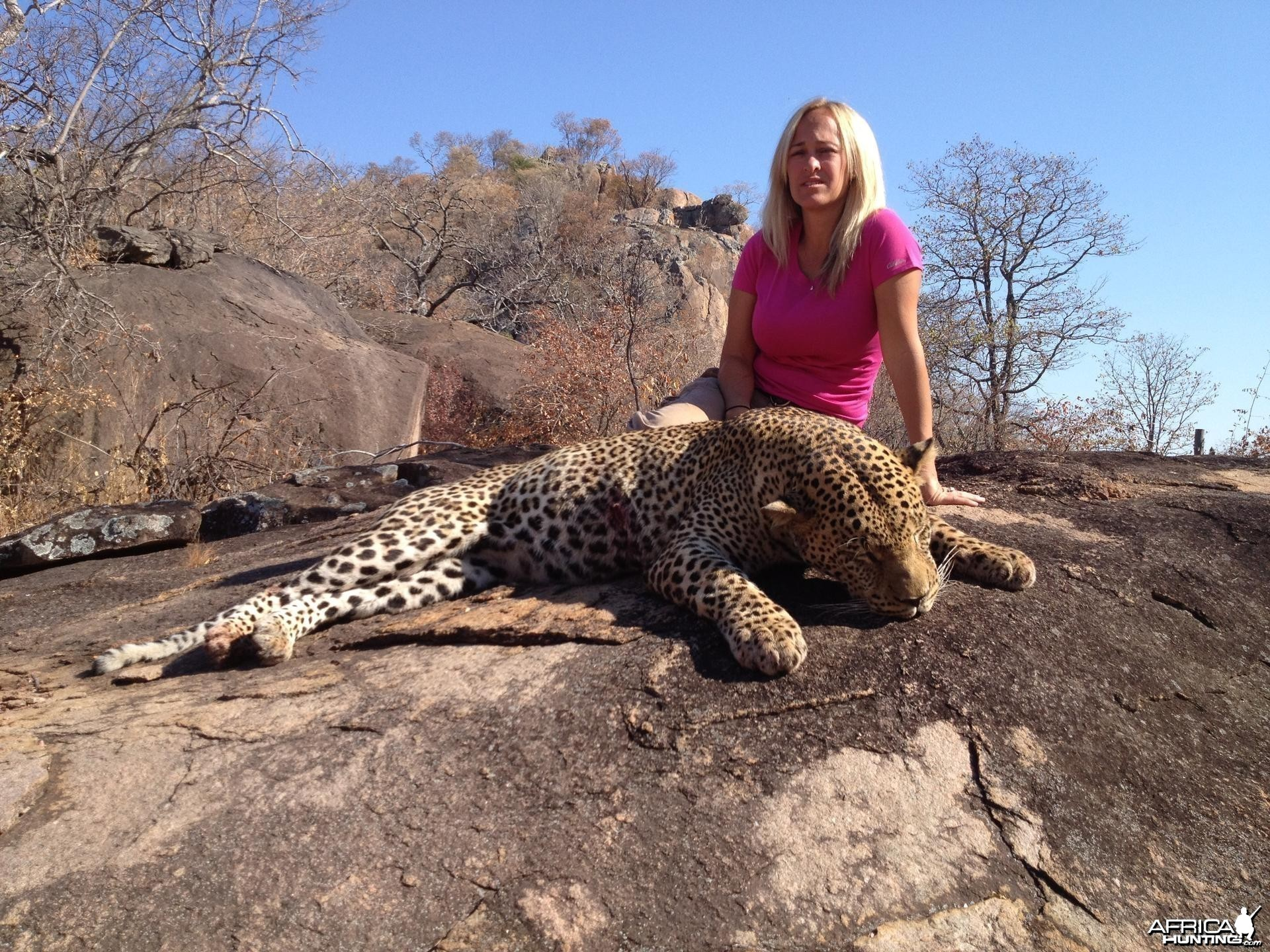 My wife and Leopard