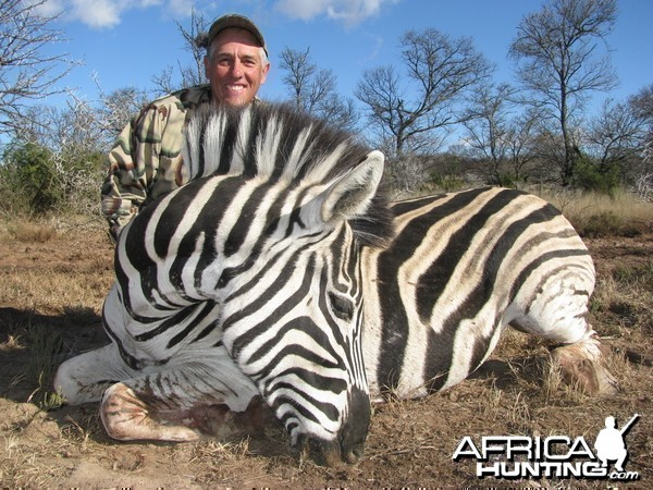 Finally...a zebra!