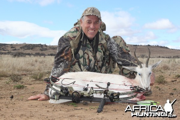Spot and Stalk White Springbok