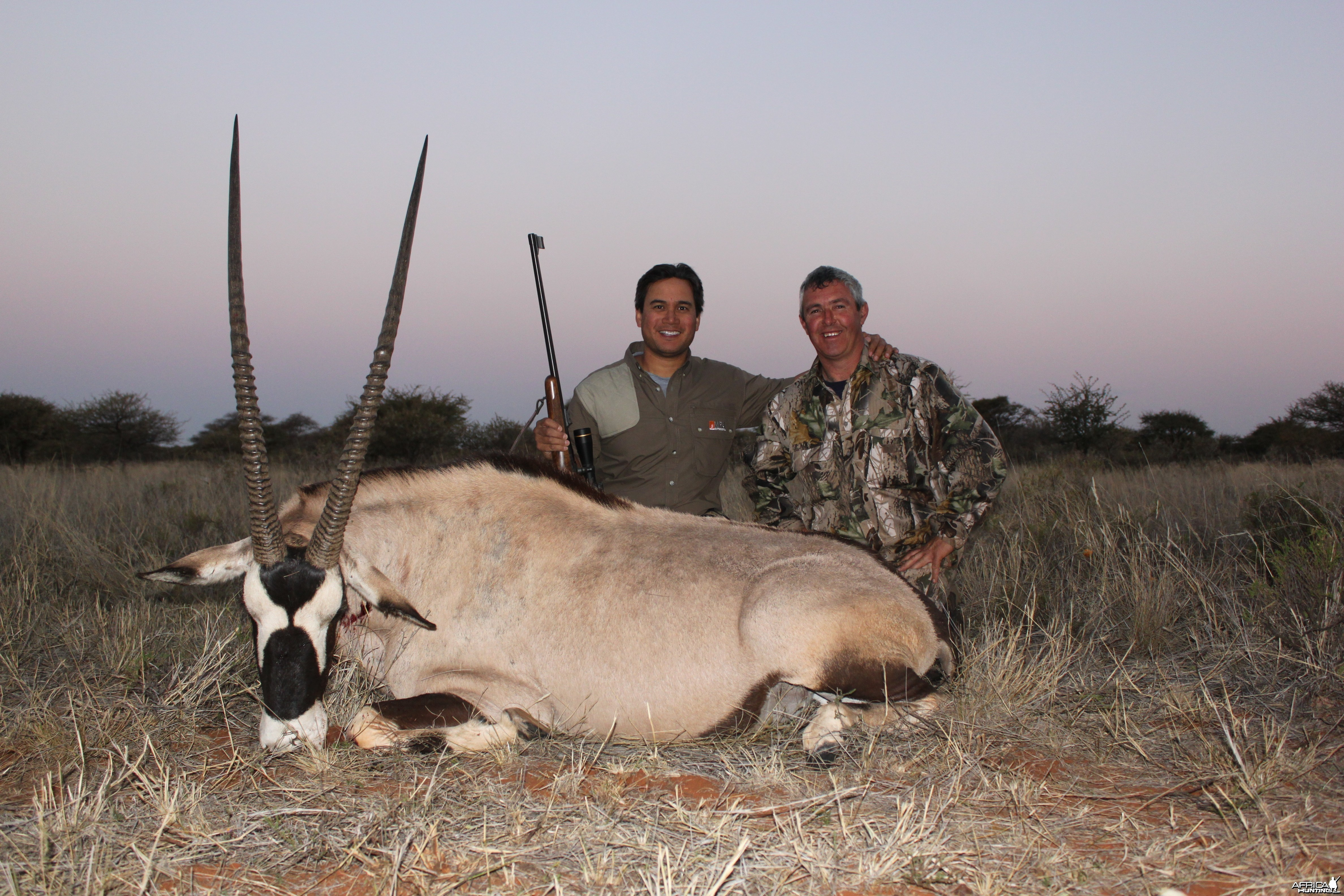Gemsbok taken at Tarentaalrand Safari Lodge