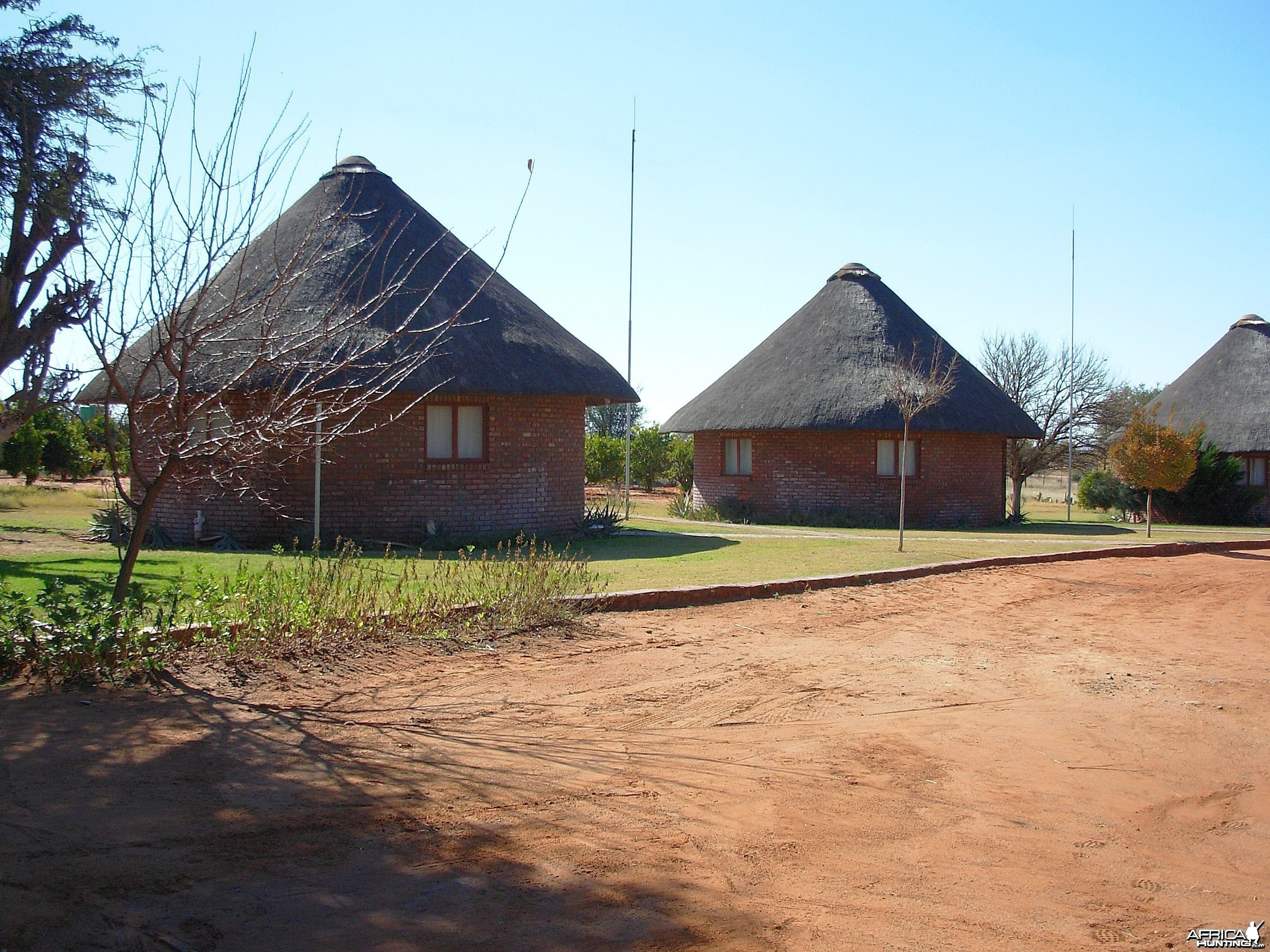 Guest Huts at the Gamagara Game Ranch