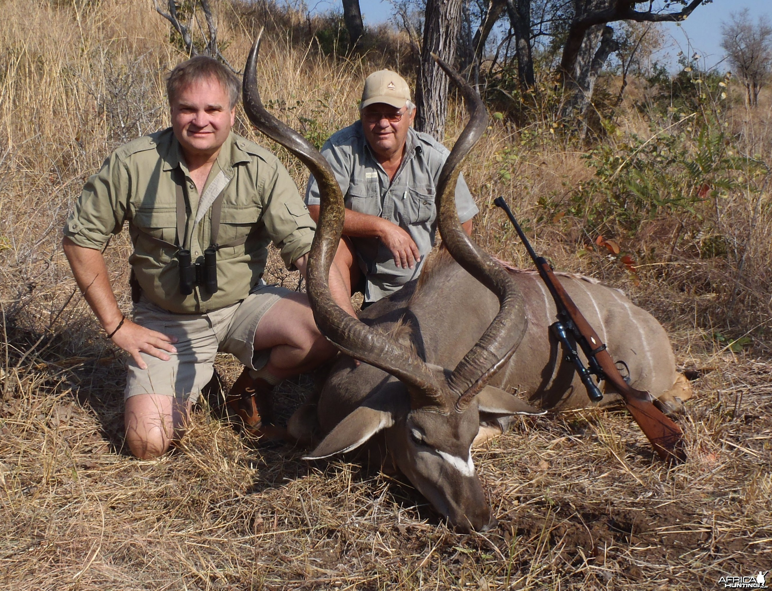 Kudu Zimbabwe with PH Hilton Nichols