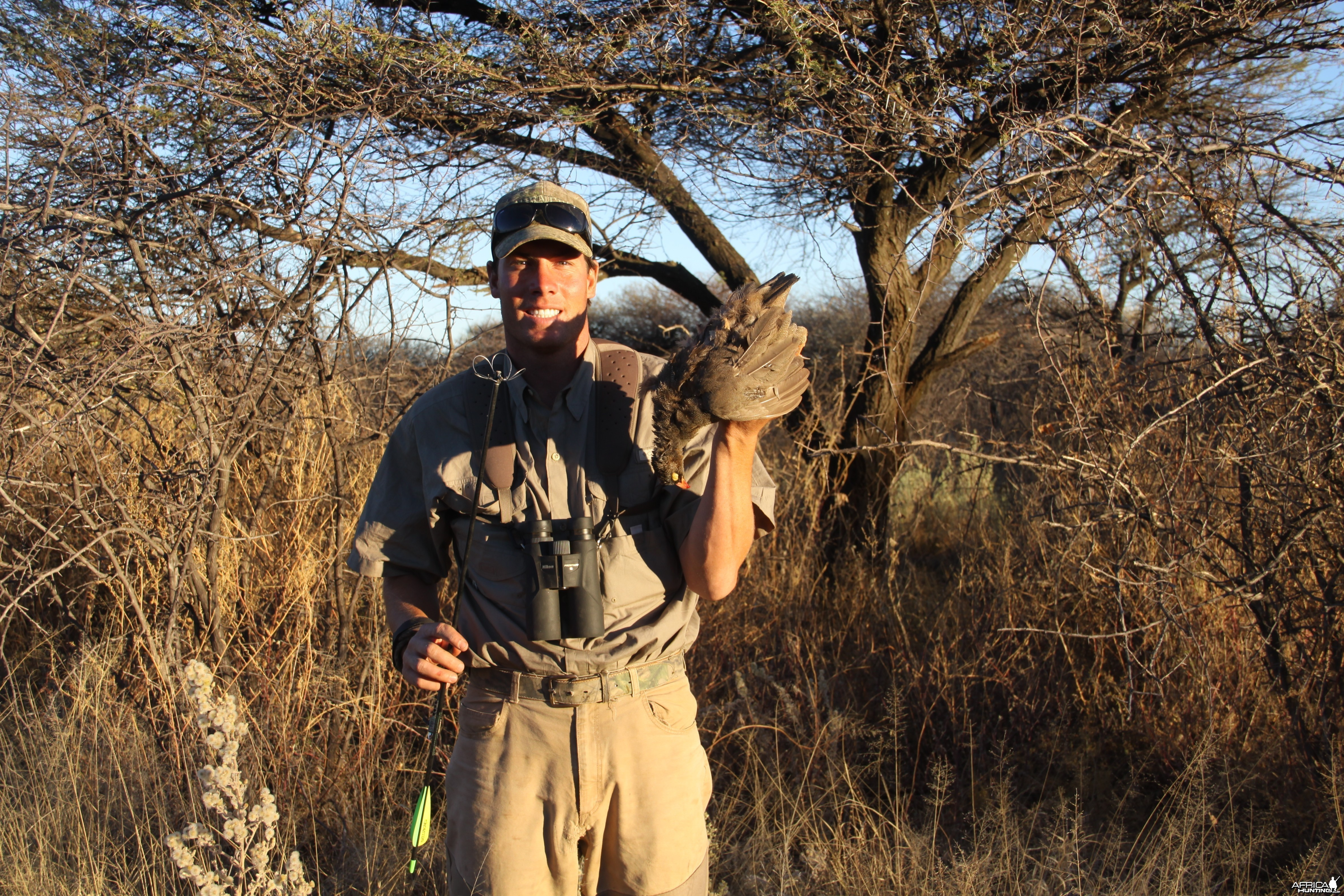 Red Francolin hunted with Ozondjahe Hunting Safaris in Namibia